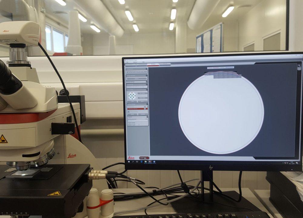 41 Opticka mikroskopia - počítanie častíc